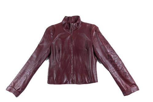 LACROIX leather jacket
