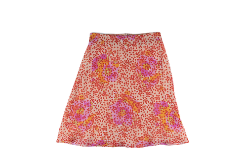 VALENTINO flower prints skirt
