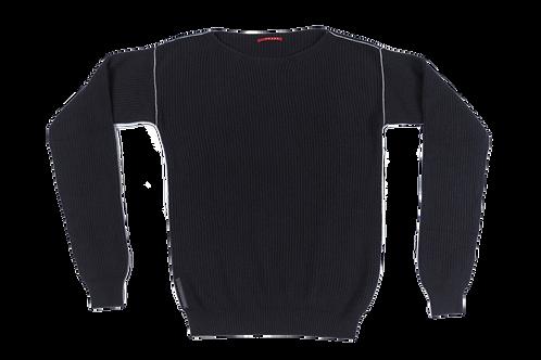 PRADA men navy knitted sweater