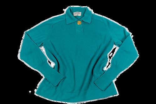 CHANEL 1995 blue polo