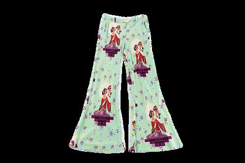 DIOR printed silk pants
