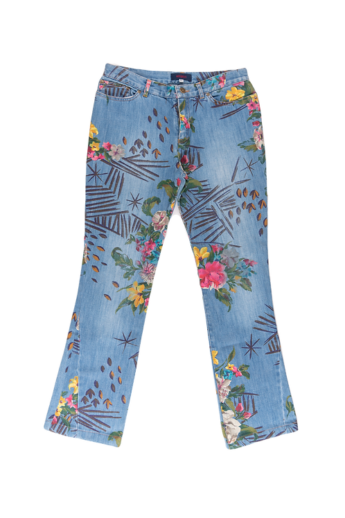 KENZO printed jeans