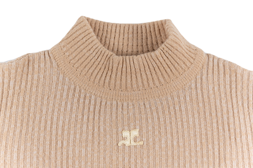 COURREGES nude pull over