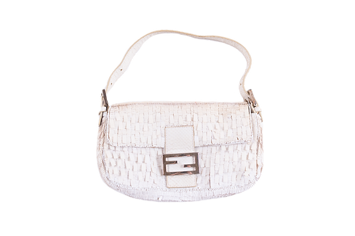 FENDI sequin and beads baguette