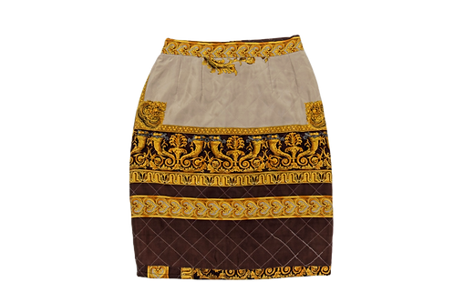 VERSACE quilted skirt