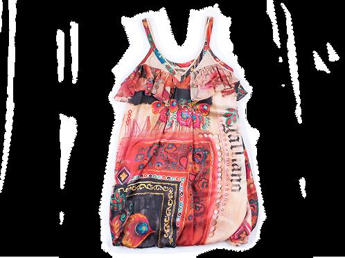 GALLIANO printed dress