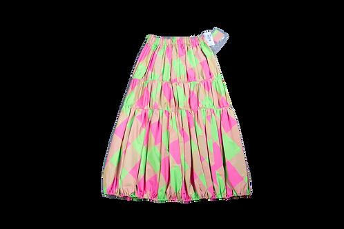 YAMAMOTO neon skirt