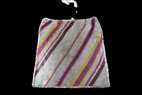 PACO RABANNE metal skirt