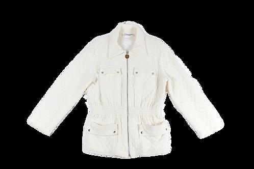 YSL white coat
