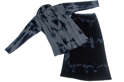 ISSEY MIYAKE Tie and dye set