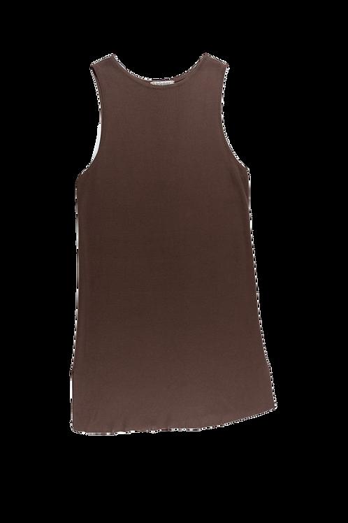YSL brown dress