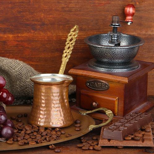 Турка медная для варки кофе