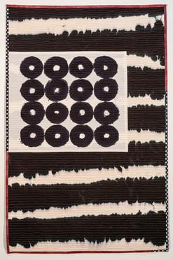 Four Square (4²) Banner, Mary Anne Jordan
