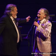 With David Clayton-Thomas at JAZZ LIVES Koerner Hall 2019