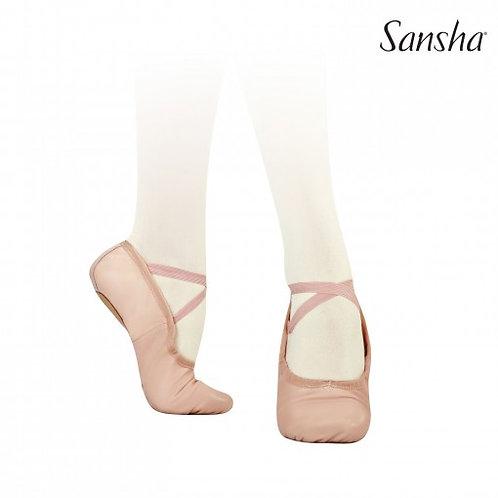 PRO1C baletki skórzane Sansha