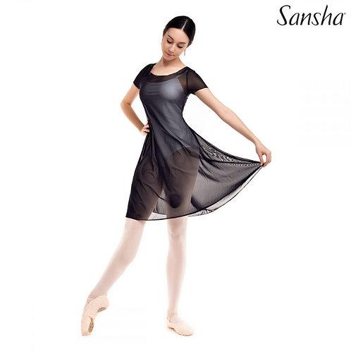 LOUISE L1724P sukienka z siateczki Sansha