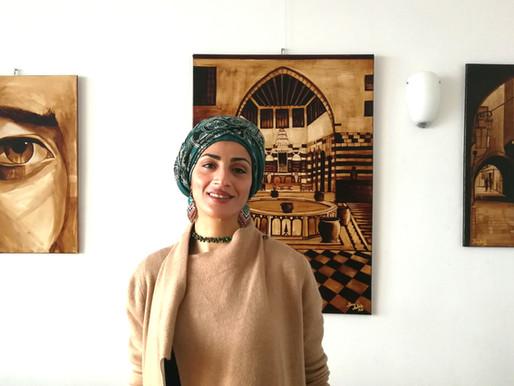 Mitternachtskaffee - Ein Interview zur Ausstellung mit der Künstlerin Rana Kalash
