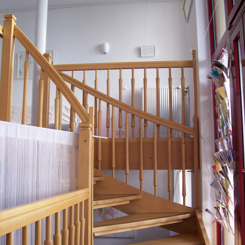 Die Treppe...