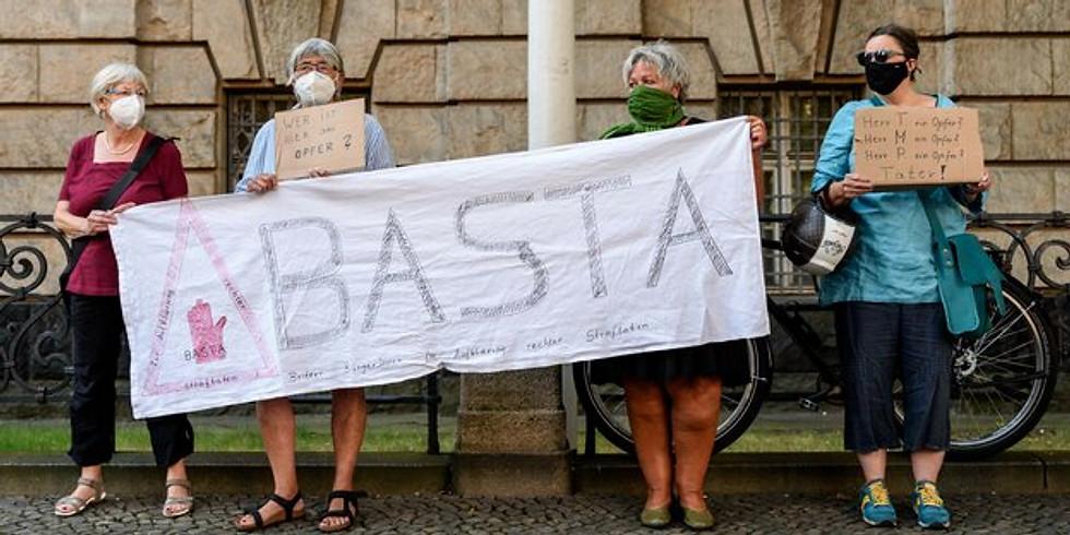 SOLI - Protestaktion vor dem LKA Berlin