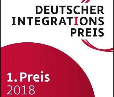 1. Platz beim Deutschen Integrationspreis