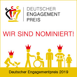 Nominierung Deutscher Engagementpreis 2019!