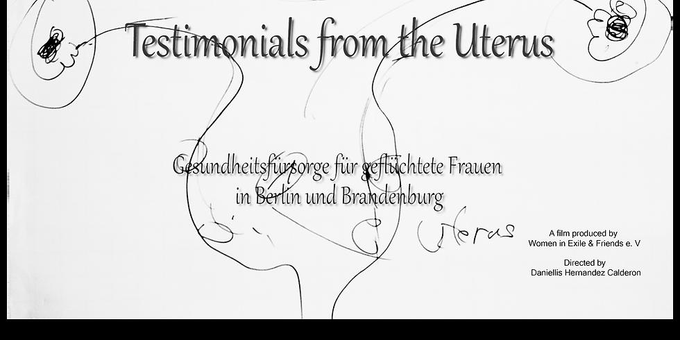"Screening & Discussion ""Testimonials from the Uterus"""