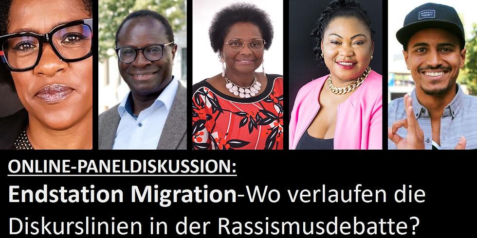 """ONLINE-PANELDISKUSSION """"Endstation Migration?"""""""