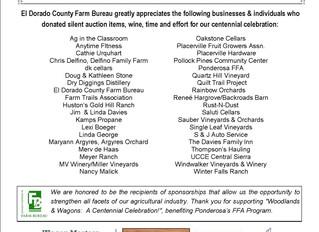 EDC Farm Bureau's 'Woodlands & Wagons' Centennial Celebration a huge success thanks