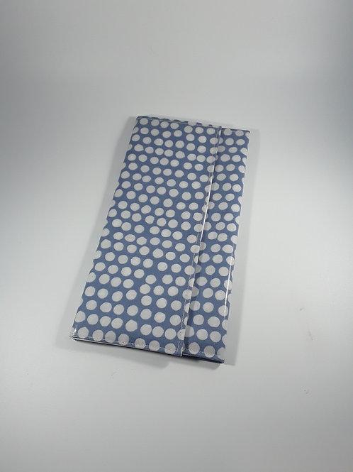 Grande pochette Carte vitale en toile enduite (range ordonnance)