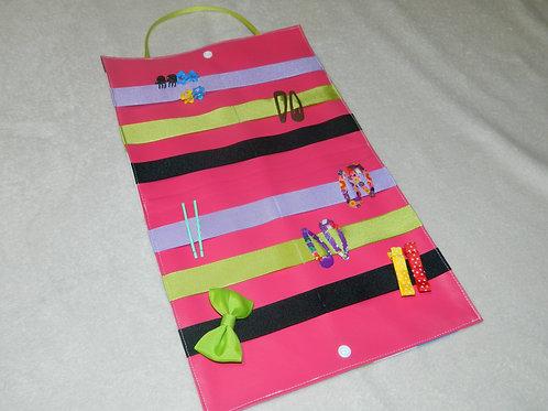 Pochette à barrettes intermédiaire avec 6 rubans à personnaliser