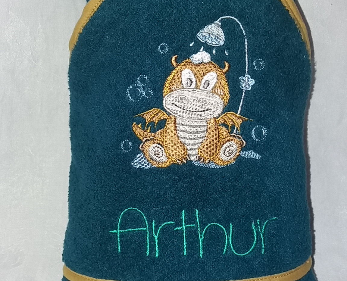 cape de bain Arthur dragon
