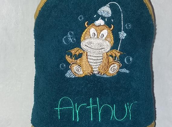 cape de bain Arthur dragon