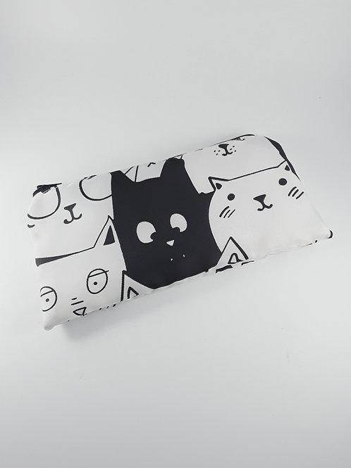 Trousse zippée chat