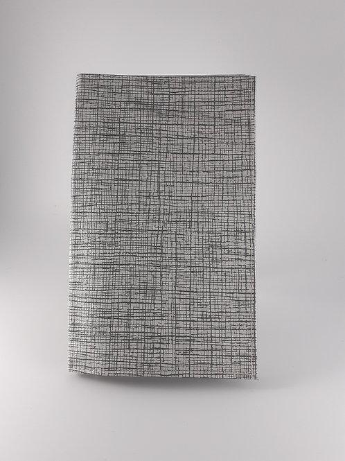 Pochette intermédiaire Carte vitale hachurée grise