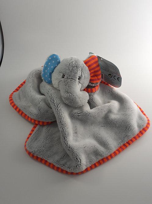 Doudou éléphant - Broderie du prénom comprise