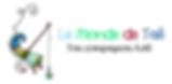 logo avec un lutin qui représente la marque de Le Monde de Taé, les objets en toile cirée, pochette, trousse, organiseur, accessoires, panier