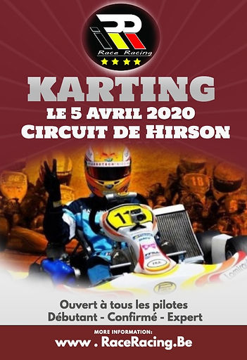 Karting course asaf hirson circuit