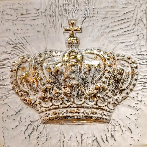 25 x 25 crown on metal**IN STORE PICKUP ONLY**