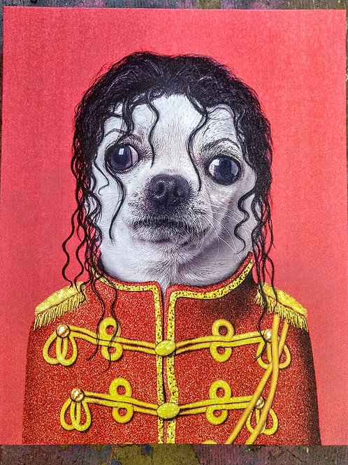 michael jackson on canvas**IN STORE PICKUP ONLY**