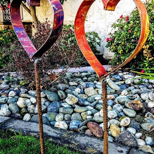 wine barrel heart **IN STORE PICKUP ONLY**