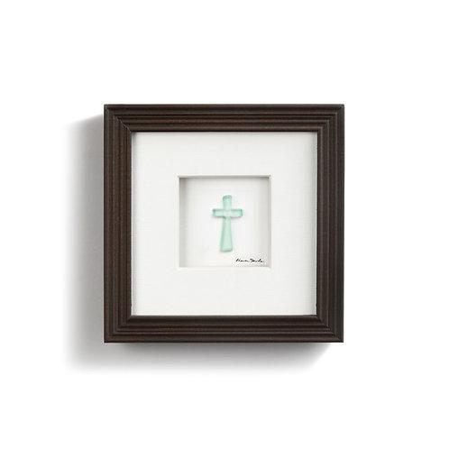 sea glass cross