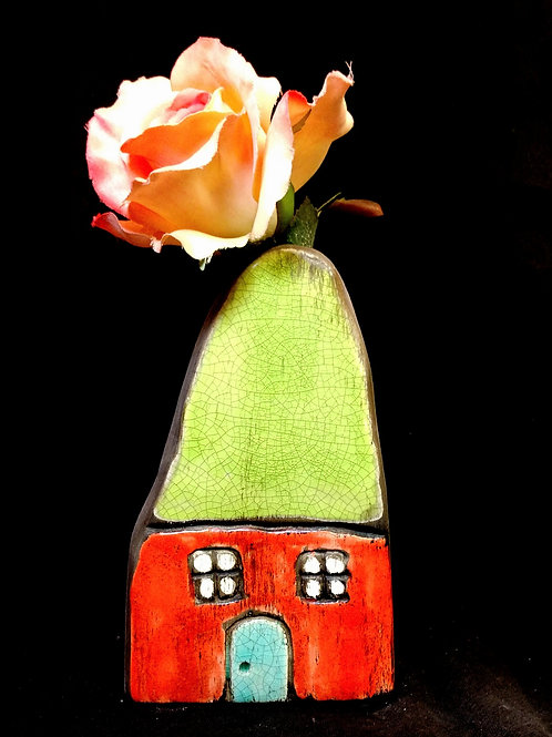 small house vase**IN STORE PICK UP ONLY**