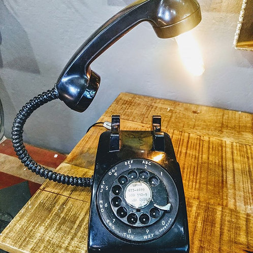 vintage phone light**IN STORE PICK UP ONLY**