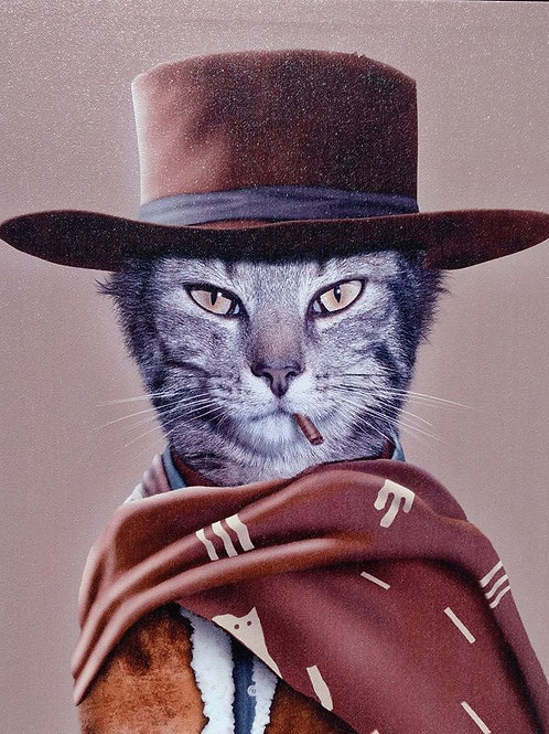 clint eastwood cat**IN STORE PICKUP ONLY**