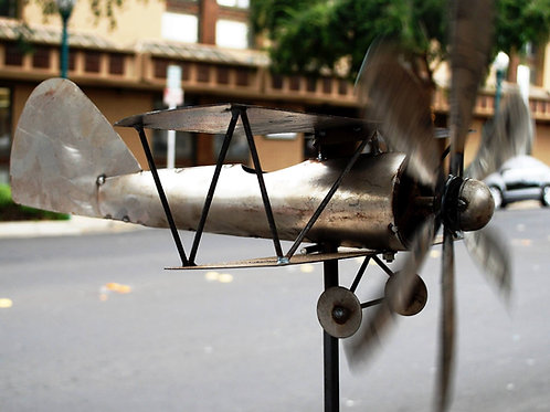 airplane wind spinner**IN STORE PICKUP ONLY**
