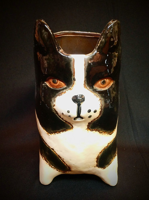 Dog vase**IN STORE PICKUP ONLY