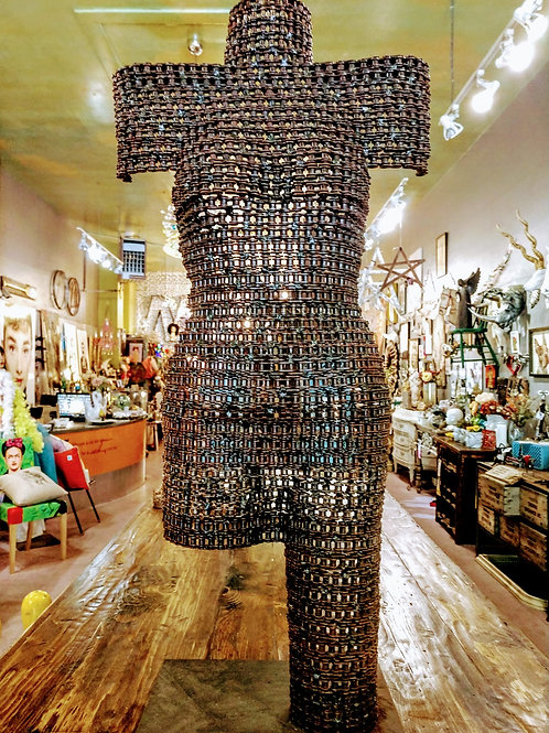 art made of bike chains **IN STORE PICK UP ONLY**