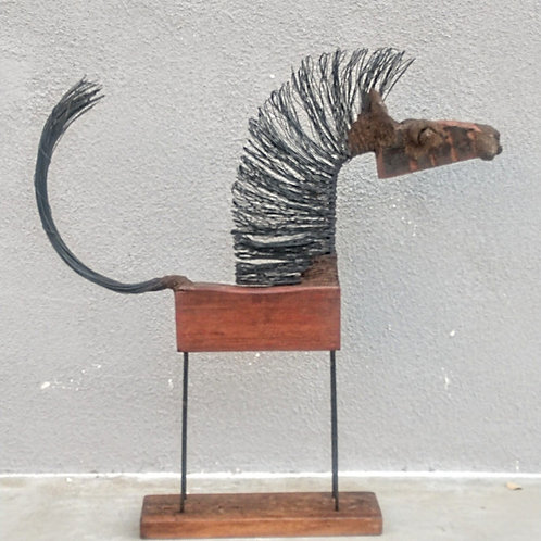 recycled horse