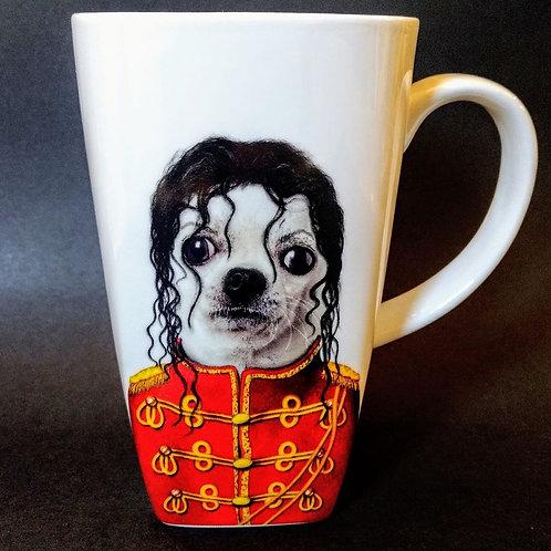 michael jackson mug
