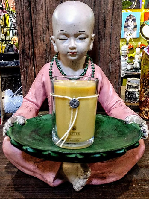 Buddha candle holder